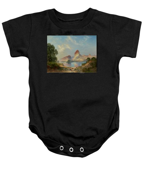 An Indian Paradise , Green River, Wyoming Baby Onesie