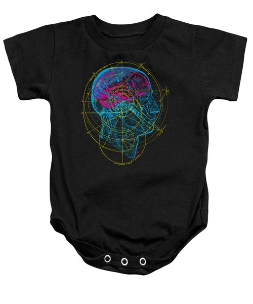 Anatomy Brain Baby Onesie