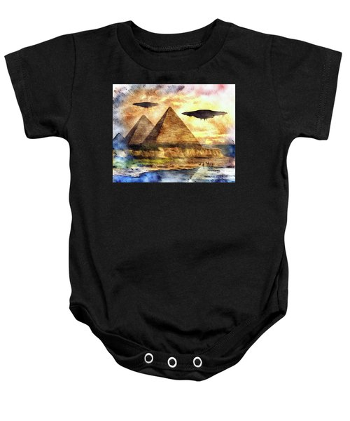 Ancient Aliens And Ancient Egypt Baby Onesie