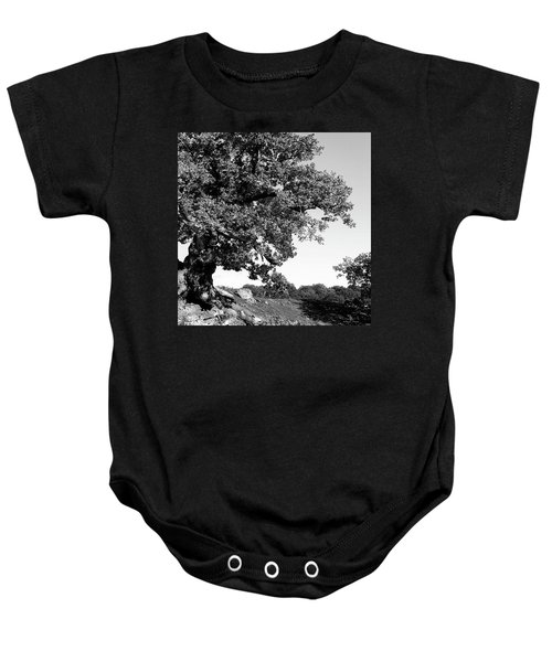 Ancient Oak, Bradgate Park Baby Onesie