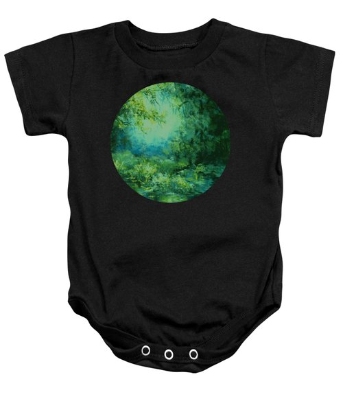 And Time Stood Still Baby Onesie
