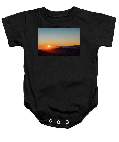 Andalucian Sunset Baby Onesie