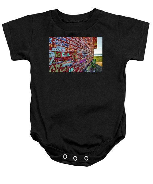 Anderson Warehouse Graffiti  Baby Onesie