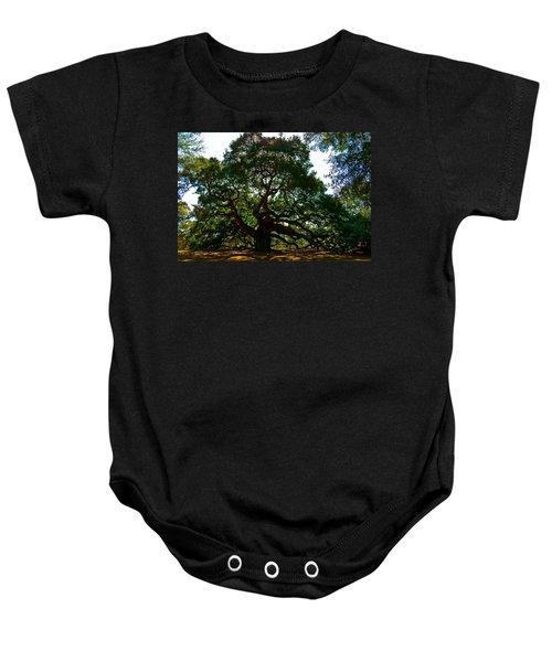 Angel Oak Tree 2004 Baby Onesie