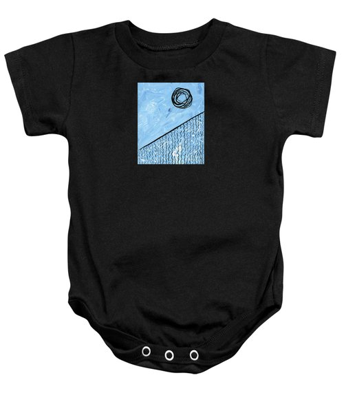 Angle Of Repose Vertical Baby Onesie