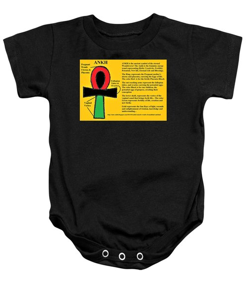 Ankh Meaning Baby Onesie