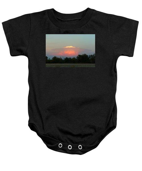 Anvil Cloud Over Kirksville, Mo Baby Onesie