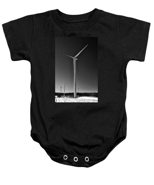 Arcade Wind Turbines 6557 Baby Onesie