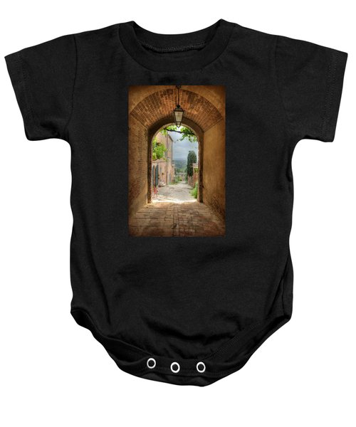 Arched View Baby Onesie
