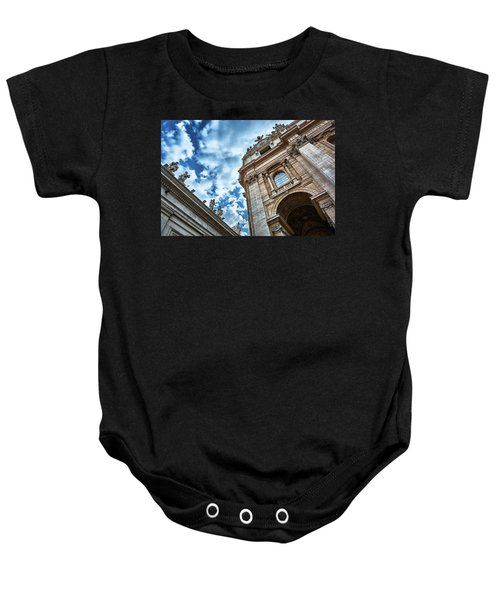 Architectural Majesty On Top Of The Sky Baby Onesie