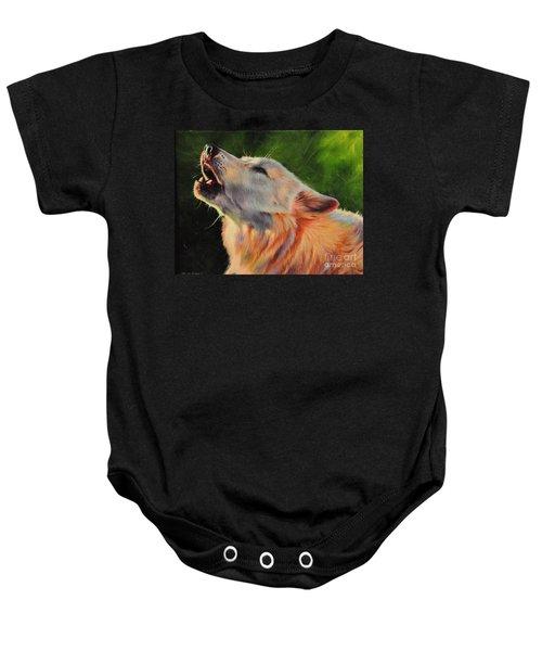 Arctic Howl Baby Onesie