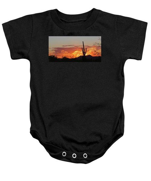 Arizona Sunset Baby Onesie