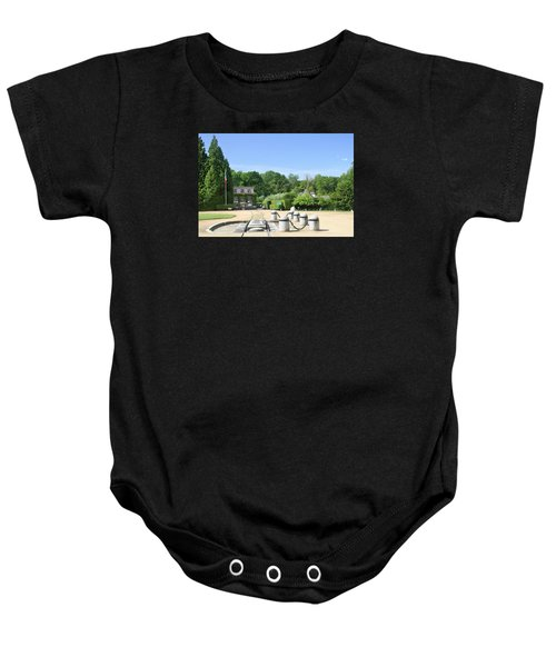 Baby Onesie featuring the photograph Armistice Clearing In Compiegne by Travel Pics