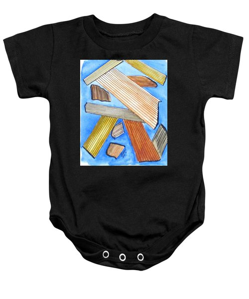 Art Doodle No. 24 Baby Onesie