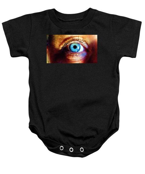 Artist Eye View Baby Onesie