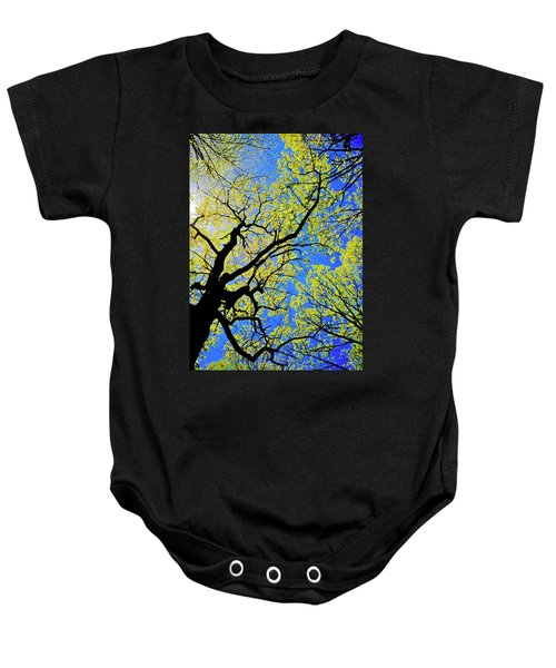 Artsy Tree Canopy Series, Early Spring - # 02 Baby Onesie