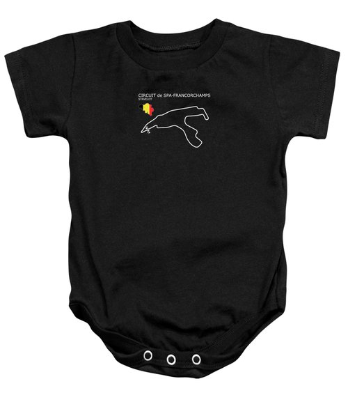 Spa Francorchamps Baby Onesie