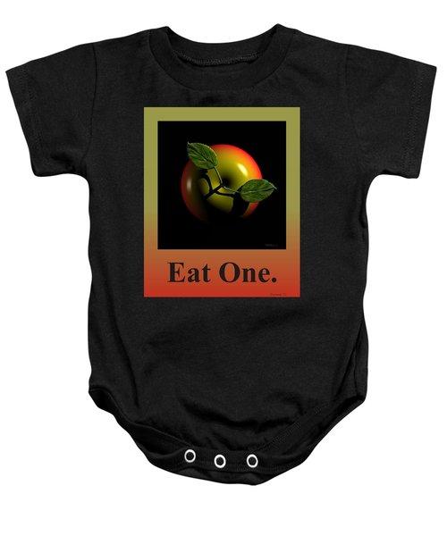 Eat One  Baby Onesie
