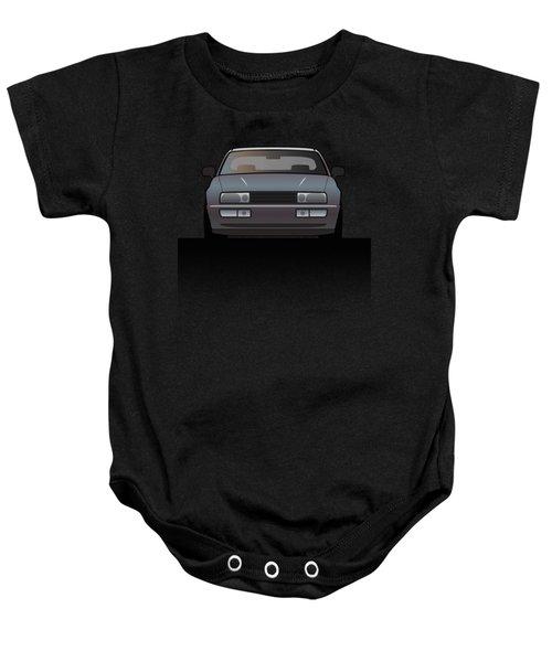 Modern Euro Icons Series Vw Corrado Vr6 Baby Onesie