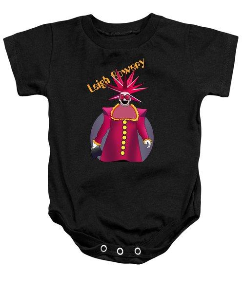 Leigh Bowery 4 Baby Onesie by Mark Ashkenazi