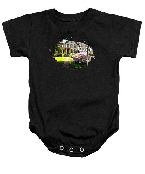 The Bush House Baby Onesie