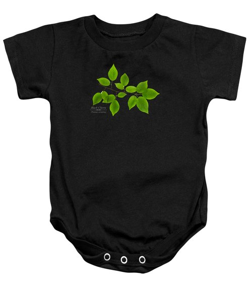Black Cherry Baby Onesie