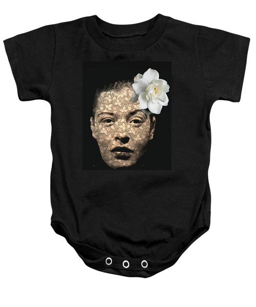 Billy Holiday Baby Onesie