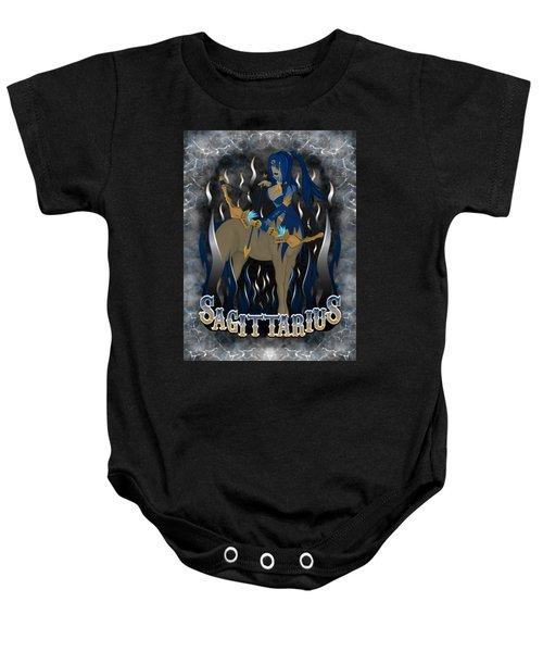 The Archer Sagittarius Spirit Baby Onesie