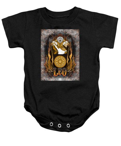 The Lion Leo Spirit Baby Onesie