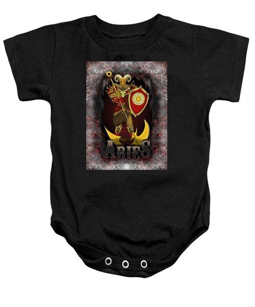 The Ram Aries Spirit Baby Onesie