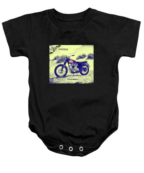 67 Bonneville Tt Special Baby Onesie