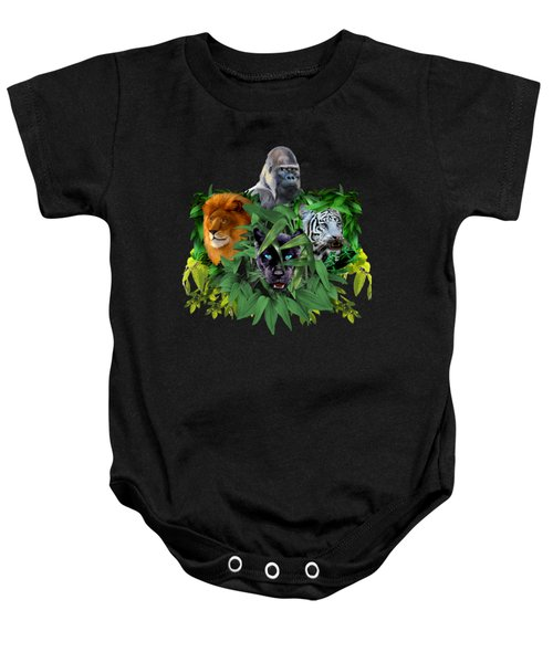 Jungle Guardians Baby Onesie