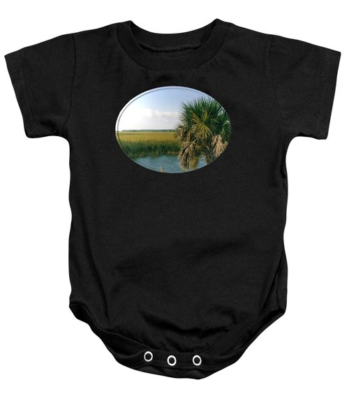 Vacation View Baby Onesie