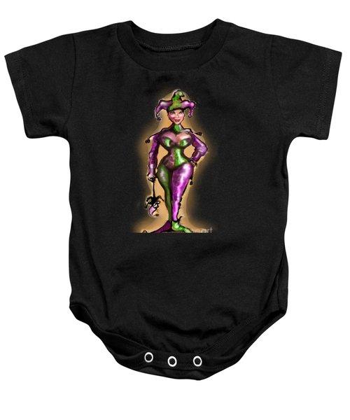 Harlequin Baby Onesie