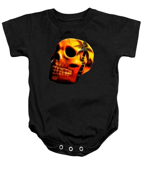 Glowing Skull Baby Onesie