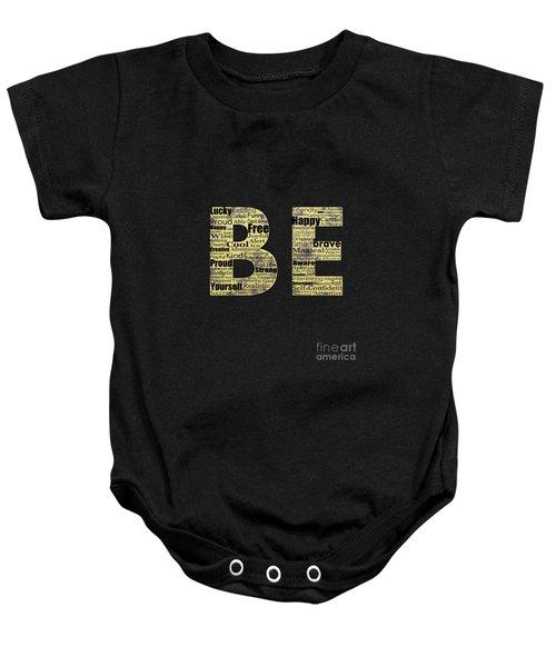 Be Inspired Baby Onesie