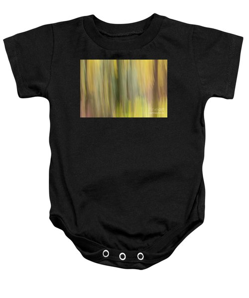 Baby Onesie featuring the photograph Aspen Blur #2 by Vincent Bonafede