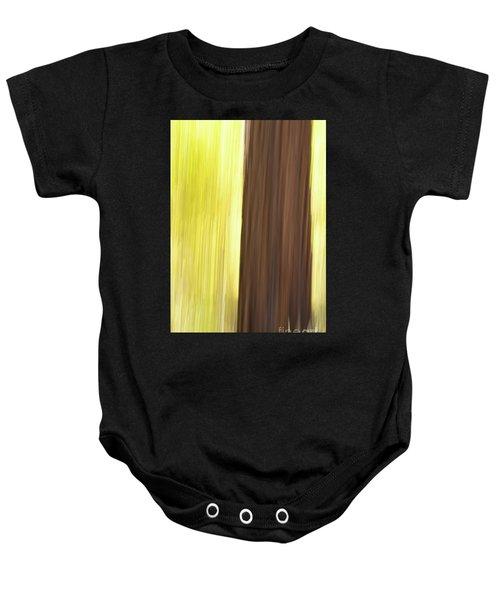 Aspen Blur #4 Baby Onesie