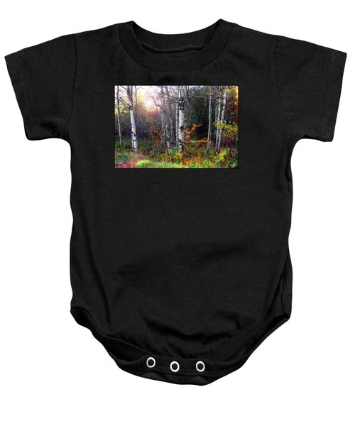 Aspen Morning Baby Onesie