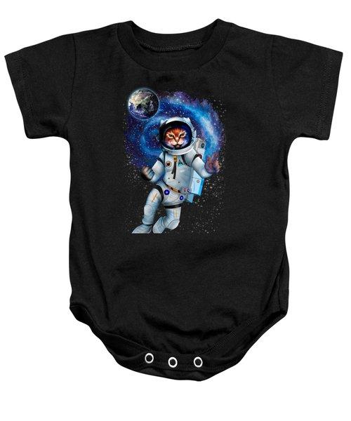 Astronaut Cat Baby Onesie
