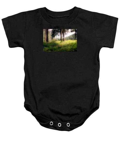 At Menashe Forest Baby Onesie by Dubi Roman