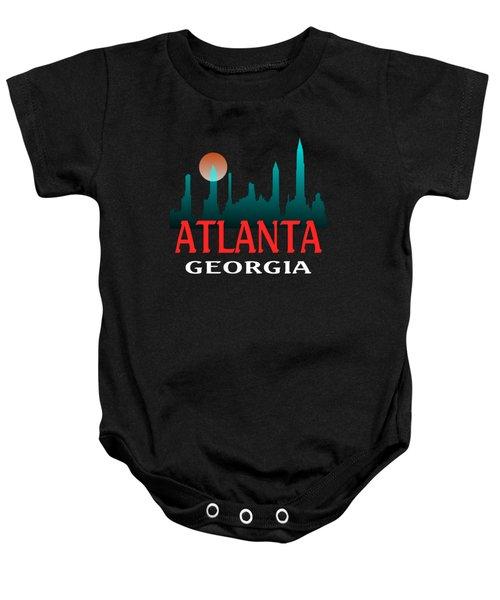 Atlanta Georgia Design Baby Onesie
