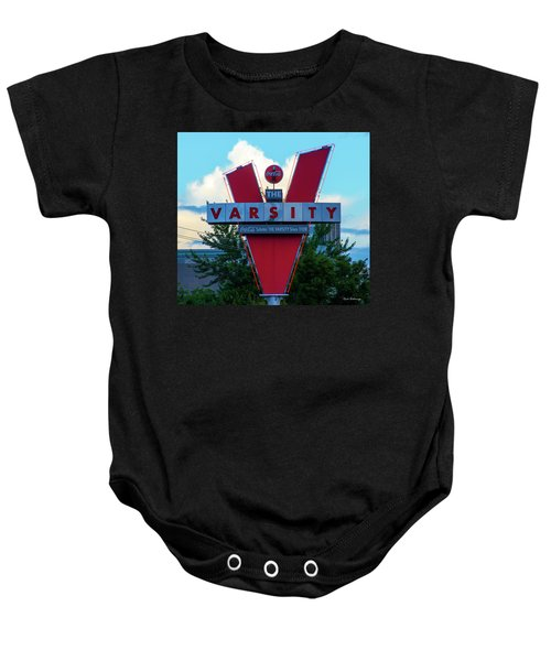 Atlanta Landmark Sign The Varsity Art Baby Onesie