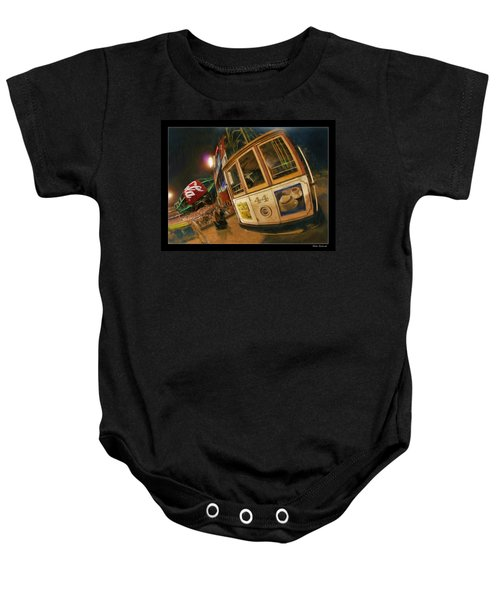 Att Park At Night Baby Onesie