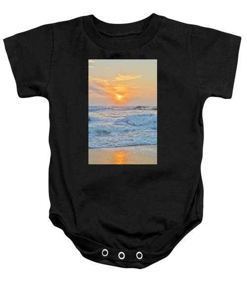 August 28 Sunrise Baby Onesie