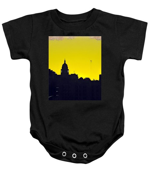 Austin Capital At Sunrise Baby Onesie