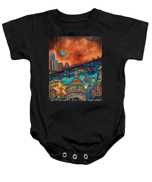 Austin Keeping It Weird Baby Onesie