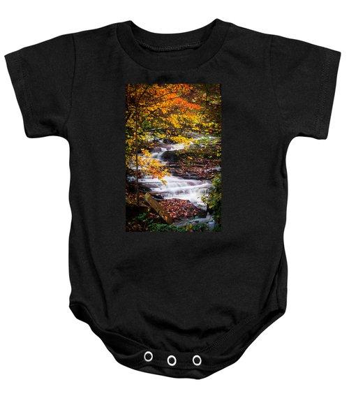 Autumn Cascade  Baby Onesie