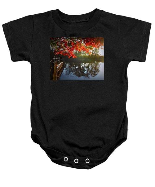 Autumn Creek Magic Baby Onesie
