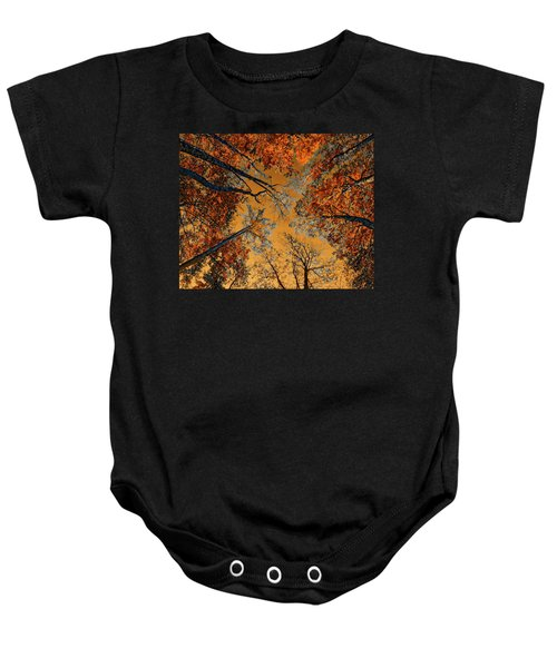 Autumn In The Forest Baby Onesie